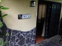 Toucan Casita front door to deck