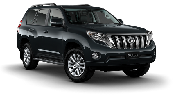 Toyota Land Cruiser Prado, sturdy 4WD for rent in Costa Rica